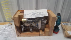 William McBride made this special box and gave it to us for injection pumps to be sent to Dieselmeken for upgrades and tuning.