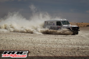 GelandeVentures and Kraut Racing's Rally G coming through the sand Sonora Rally 2016 Mexico