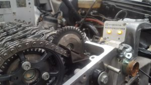 Rally-G 230 gas engine to OM606A conversion.