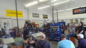 Maintenance Seminar put on by Marc Beyer from OCD Custom Cycles & Auto Repair