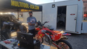 Motorcycle competitor