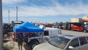 Bivouac in Puerto Penasco, Mexico - Day 1 of 2017 Sonora Rally