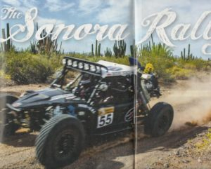 Off Road Adventure Magazine Sonora Rally-Rally-G article