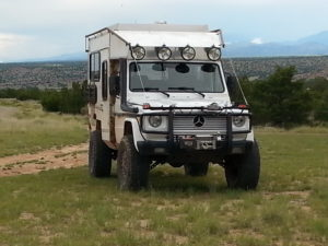 G-Wagen Camper with Tibus Portal Axles