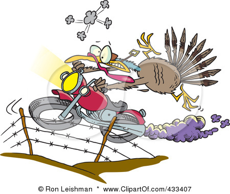 433407-royalty-free-rf-clipart-illustration-of-a-turkey-bird-escaping-on-a-motorcycle
